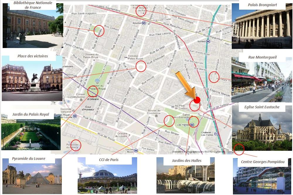 Localisation Déficit foncier Paris