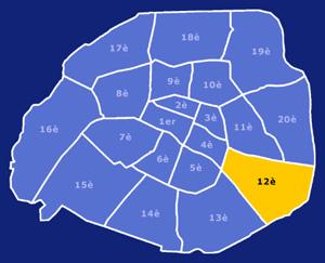 12ème arrondissement de Paris