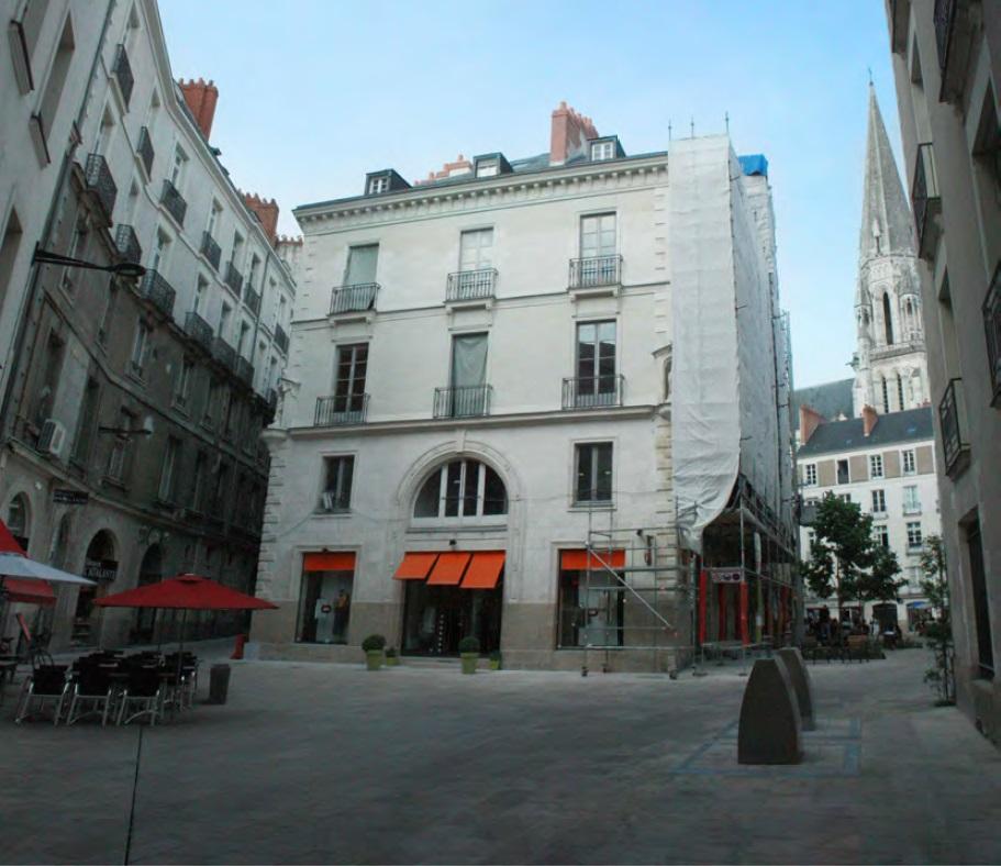 immeuble Malraux à Nantes, rue Vauban