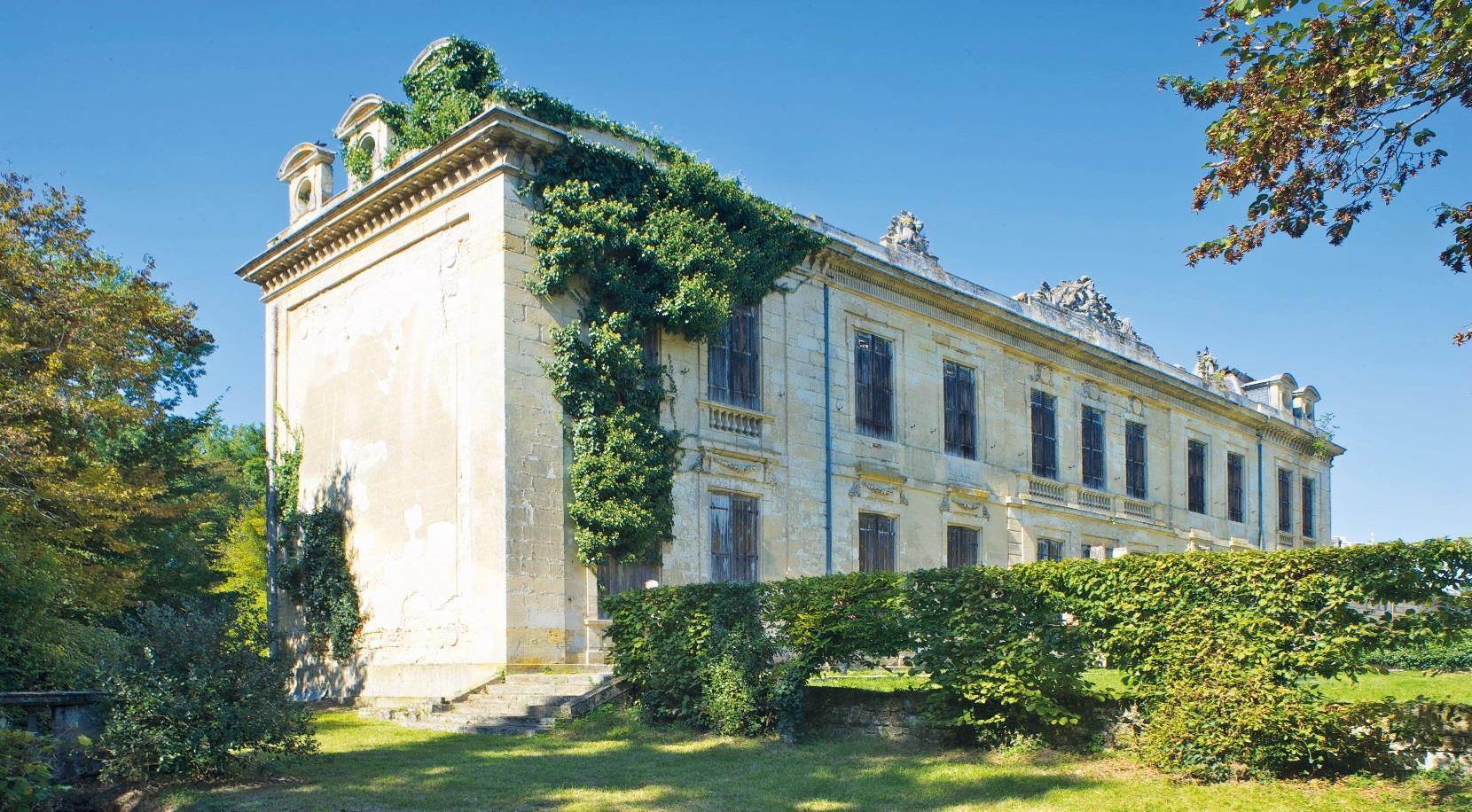 Domaine du château Raba à Bordeaux