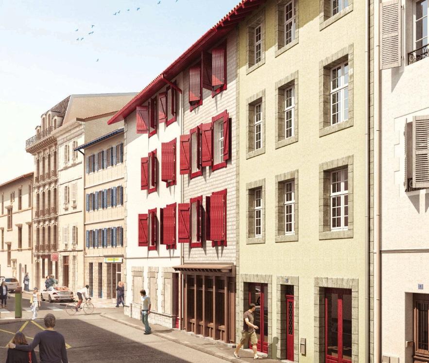 Immeuble Malraux à Bayonne