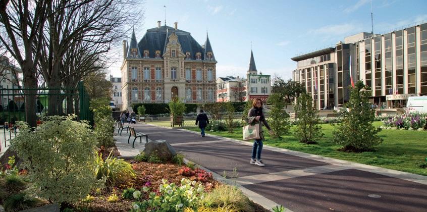 Reuil Malmaison centre ville