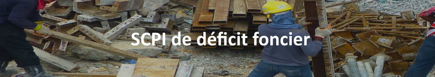 SCPI de déficit foncier